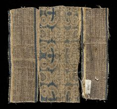 samite and silk, end of 13th cent., Italy, Lucca (presumably)