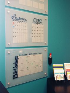 A tutorial on how to make custom dry erase boards for your youth ministry office. Use them for task lists, calendars, reminders, and more.