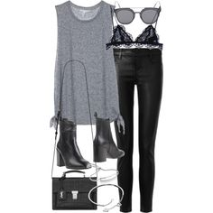 Edgy Outfits, Teen Fashion Outfits, Fall Outfits, Summer Outfits, Womens Fashion, Estilo Rock, Mode Style, Minimalist Fashion, Bff