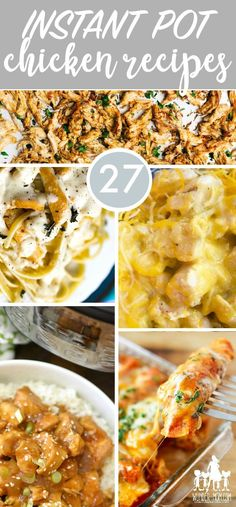 instant pot chicken recipes - Delicious dinners to make in your pressure cooker – Instant Pot chicken recipes I am always on the search for kid approved recipes and super easy family dinner ideas. As a mom of four, the Instant Pot is a total game changer. I love my crock pot, it gets used weekly and my freezer is filled with crock pot freezer meals. #InstantPot #ChickenRecipes #wundermom #chicken #familydinner