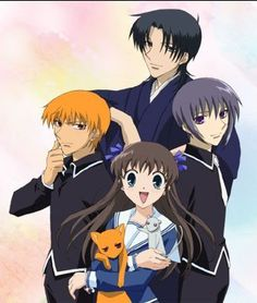 Fruits Basket: the best anime/manga of all time! (I've read the manga and seen two episodes of the anime, I like the manga better ^_^; Manga Anime, Dc Anime, Anime Kawaii, Anime Nerd, Anime Guys, Fruits Basket Anime, I Love Anime, Awesome Anime, Awesome Stuff