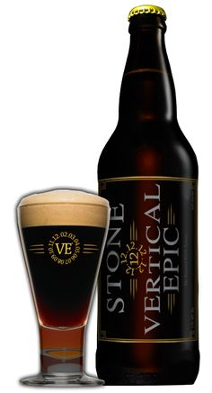 Stone Vertical Epic Ale 12.12.12. Drinking one of these babies now & I'm sad to know that it's the last time I'll get to have it. I haven't tasted anything this amazing in awhile.