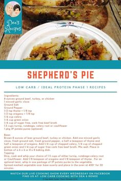 Protein Diets, Protein Recipes, Ideal Protein Phase 1, Health Facts, Ground Beef, New Recipes, Low Carb, Keto, Stuffed Peppers