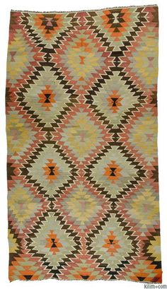Vintage Mut Kilim Rug - the rug of my dreams!