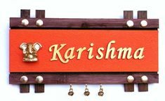 Buy #Personalized Name Plates Online in India. #wooden #nameplates ...