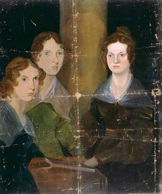 The Brontë Sisters (also known as Anne Brontë; Emily Brontë; Charlotte Brontë) circa (English, 1817 - 1848) by Patrick Branwell Brontë - circa 1834 Location: National Portrait Gallery - London (UK - London) Dimensions: Height: 90.2 cm (35.51 in.), Width: 74.6 cm (29.37 in.) Medium: Painting - oil on copper