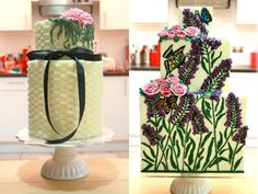 Modern, Elegant and Stylish Queen of Hearts Buttercream Couture Wedding Cakes | OMG I'm Getting Married UK Wedding Blog | UK Wedding Design and Inspiration for the fabulous and fashion forward bride to be.