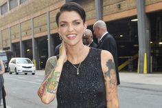 OITNB's Ruby Rose Schools Us on Gender Fluidity  - ELLE.com