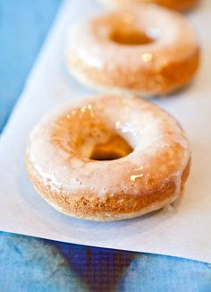 Averie Cooks - Baked Eggnog Doughnuts