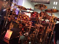 Neil Peart R40 Drum Kit