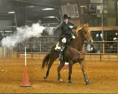 At the CMSA shoot at the Salt Creek Arena in Texas