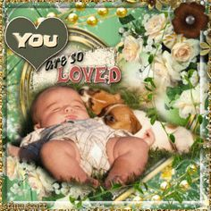 You are SO loved!... Baby Blingee by stina scott