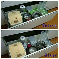 Kitchen,ニトリ,シンク下,抗菌すべり止めシート soyokoの部屋