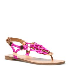 I love these sandals and their twistiness