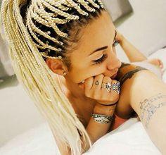 Blond Box Braids
