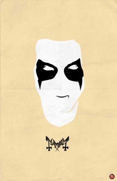 Minimalist Black Metal Posters - Headbang 'n Buttonmash Black Metal, Heavy Metal Art, Mayhem Band, Extreme Metal, Cross Stitch Love, Thrash Metal, Death Metal, Metal Bands, Music Bands