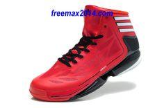 Adidas Adizero Crazy Light 2 Red/Black - Derrick Rose Shoes   . #cheap #red #shoes