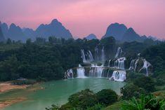 Detian Waterfall by minhhai21.deviantart.com on @deviantART