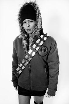 The reversible Chewbacca hoodie from #StarWars & #Ecko.