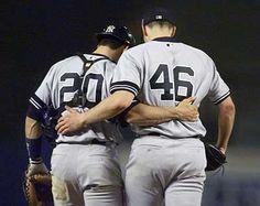 NY Yankees - Jorge Posada and Andy Pettitte