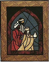Stained Glass Quilts on Pinterest   Stained Glass Quilt, Stained ...