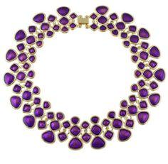Statement Necklaces Collares Women's Fashion Necklace Accessories Gold Color Black Blue Purple Green Enamel Maxi Collar Choker Necklaces For Women