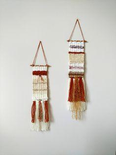 Fiber Art, Weaving, Wall Hanging, Home Decor, Woven, Handmade, Boho, Unique Gift, Handwoven Wall Hanging, by Kim Isaacs, Wild Lemon Studios by WildLemonStudio on Etsy