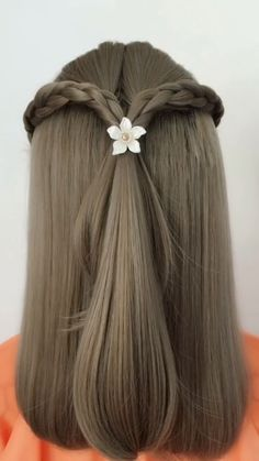 Haare Hairstyle Tutorial 902 Hair ideas for all hair lengths There are thousands of different haircu Super Easy Hairstyles, Easy Hairstyles For Long Hair, Braided Hairstyles, Cool Hairstyles, Hairstyles Videos, Black Hairstyles, Summer Hairstyles, Easy Wedding Hairstyles, Step Hairstyle