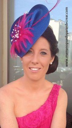 Mama no puedo parar de crear ®: Marcando la diferencia con su Tocado Joya Sombreros Fascinator, Fascinator Headband, Fancy Hats, Cool Hats, Turban, Facinator Hats, Race Day Hats, African Hats, Tea Hats