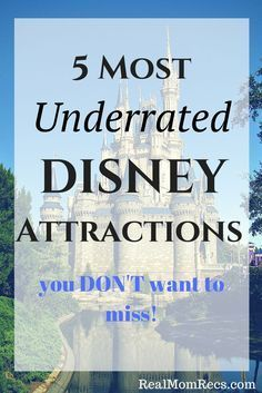 Most underrated attractions at Walt Disney World! Do NOT miss these! Disney  Travel 81cad00b3d98