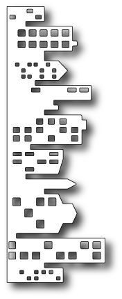 11 98398 Memory Box DIES Cityscape Nightline Detail Page