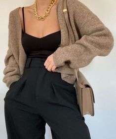 Look Fashion, Korean Fashion, Fashion Outfits, Vest Outfits, Cute Casual Outfits, Stylish Outfits, Elegantes Outfit Frau, Mode Instagram, Elegant Outfit