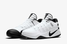 timeless design 2bc96 1e9c2 Nike Hyperdunk 2016 Low Mens Basketball Shoes White Black 844363 100 Nike  Factory Outlet, Nike