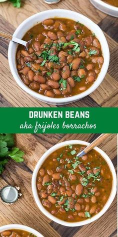 Mexican Beer, Mexican Dishes, Mexican Food Recipes, Real Food Recipes, Vegetarian Recipes, Ethnic Recipes, Mexican Whole Beans Recipe, Mexican Meals, Bean Recipes