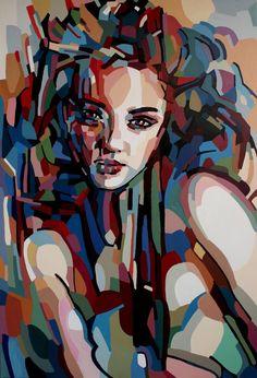 "Saatchi Art Artist Noemi Safir-Dolev; Painting, ""life is within me - SOLD"" #art"