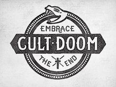 Cult Doom by Richie Stewart #illustration #design #kysa