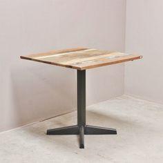 Tables & bureaux design industriel - Table bistrot industrielle 080cm - BPR343 - Modèle Factory