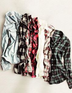 Vintage Hipster Flannel on Etsy, $11.00