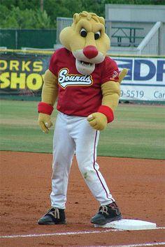 Ozzie is the rambunctious mascot for Nashville's minor league baseball team, the Nashville Sounds.