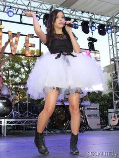 megan nicole hot | Megan Nicole - Celebrity Sightings: Thursday, August 1, 2013 Megan Nicole, Celebs, Celebrities, Tulle, Ballet Skirt, Photoshoot, Thursday, Music, Fashion