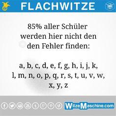 Flachwitze #209 - Schüler - WitzeMaschine