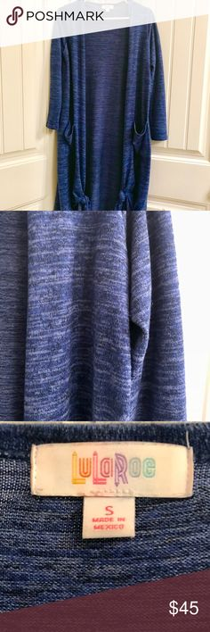 BLUE Sarah black heathered Love this Sarah! Unfortunately I need the money :/  I don't wear it much and is really really versatile LuLaRoe Jackets & Coats Blazers