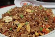 Chicken Fried Rice Recipe_  One of the first restaurant dishes I perfected at home was Chicken Fried Rice. I set my sights on the fried rice from Benihana, a Japanese restaurant. If you've never been to Benihana, meals are prepared by knife-wielding chefs at a teppanyaki tables.