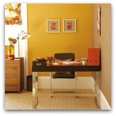 Feng shui on pinterest front doors home designing and clutter - Colors home office can enhance productivity ...