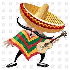 Mexican Sombrero Clip Art Worm | Mexican Sombrero Clip Art Free Clipart - Free…