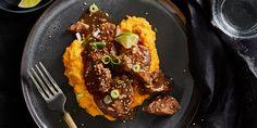 Chinese stoofmet pompoen-kokospuree - Boodschappen Olie, Food, Essen, Yemek, Meals