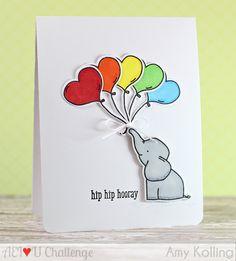 28 ideas baby cards handmade rainbow for 2019 Creative Birthday Cards, Cute Birthday Cards, Handmade Birthday Cards, Creative Cards, Creative Ideas, Baby Birthday Card, Scrapbooking, Scrapbook Cards, Kids Cards