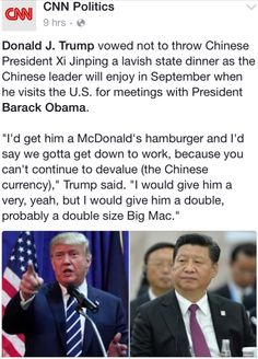Now this Idiot is Insulting World Leaders!! As much as I despise This Jerk, he is making The Republicans look like The Rotten, Rude, Dirty Bastards they are! Keep up the Good Work Donald Duck Trump!!