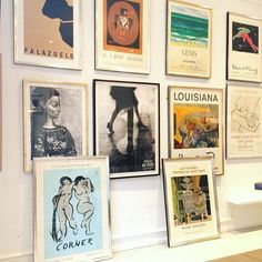 #Picasso, Paul Rene #Gauguin, Edvard Munch Corner, #Marchand  Willy Ronis -and so on #bendtsens #art #gallery #silverframe #frederiksberg