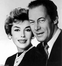 Kay Kendall and Rex Harrison. One of the most romantic - and tragic - love stories in the history of cinema. Rex knew Kay was dying of leukaemia - she did not - and married her anyway! Sigh...